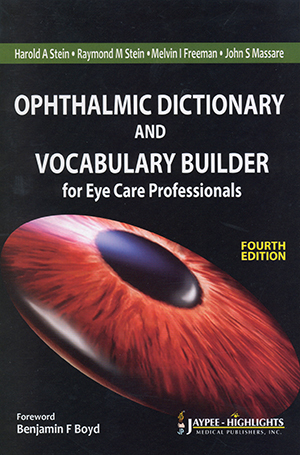Ophthalmic Dictionary & Vocabulary Builder