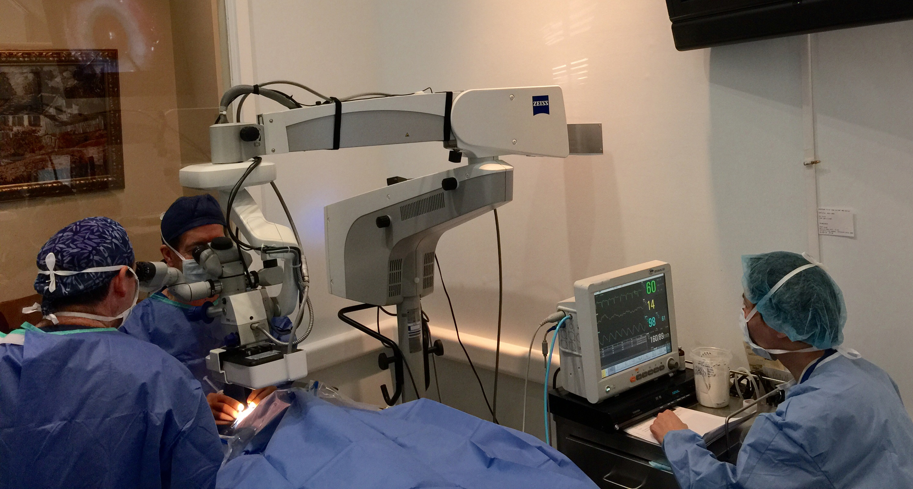 Cataract eye surgery performed at Bochner Eye Institute in Toronto